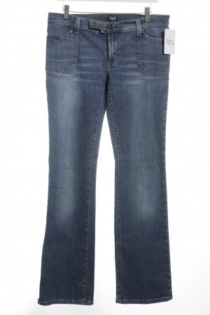 D&G Straight-Leg Jeans blau Casual-Look