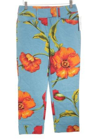 D&G Straight-Leg Jeans Blumenmuster extravaganter Stil