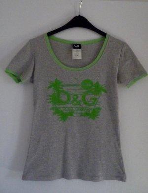 D&G, T-Shirt mit Sommer-Print