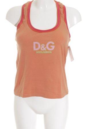 D&G Tanktop mehrfarbig Casual-Look