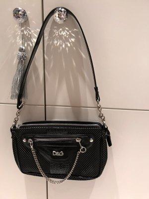 D&G Tasche schwarz/silber