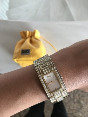 D&G Time Dolce & Gabbana Armbamduhr Uhr Gold