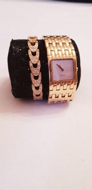 Dolce & Gabbana Analoog horloge goud