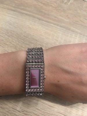 Dolce & Gabbana Montre avec bracelet métallique multicolore