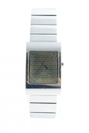 D&G Watch With Metal Strap silver-colored-primrose business style