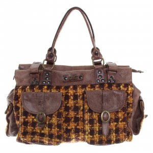 Dolce & Gabbana Handbag light brown wool