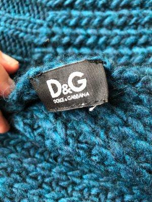 D&G Wollschal Unisex Petrol