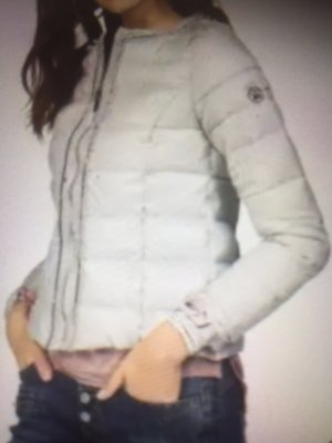 Zabaione Quilted Jacket light grey