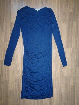 Dagmar Shirt Dress dark blue lyocell