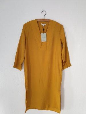 Dagmar Tunic Dress gold-colored-ocher viscose