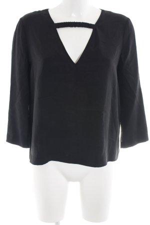 Dagmar Long Sleeve Blouse black business style