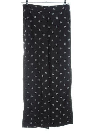 Dagmar Jersey Pants black-light grey allover print elegant
