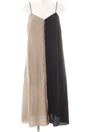 Dagmar Trägerkleid schwarz-creme Casual-Look