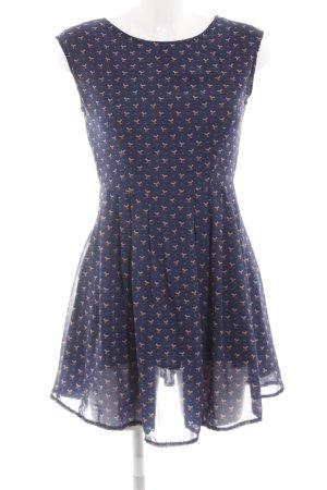 Dahlia Empire Dress themed print casual look
