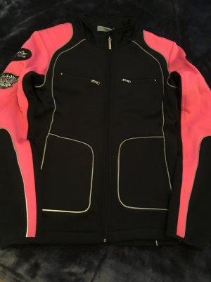 Daily Sports Fleece Jackets black-pink
