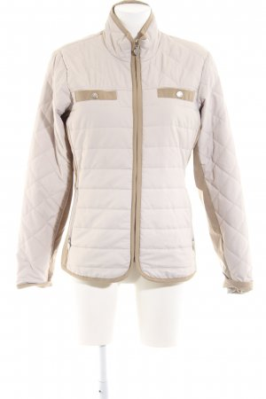 Daily Sports Quilted Jacket natural white-brown quilting pattern business style