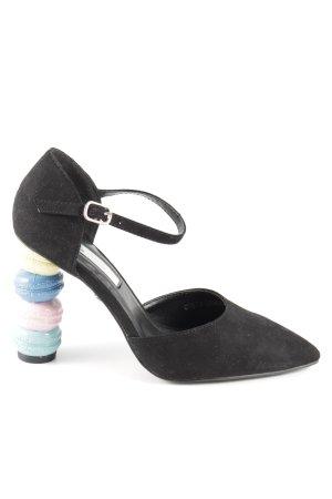 Daisy Street High Heels schwarz extravaganter Stil
