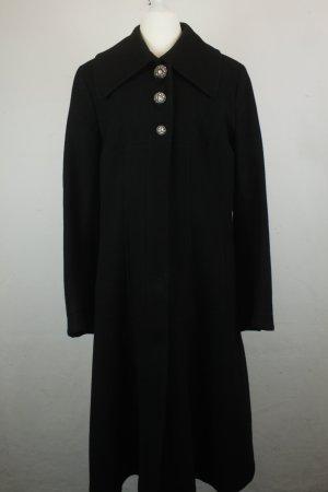 Daite Wool Coat black mixture fibre