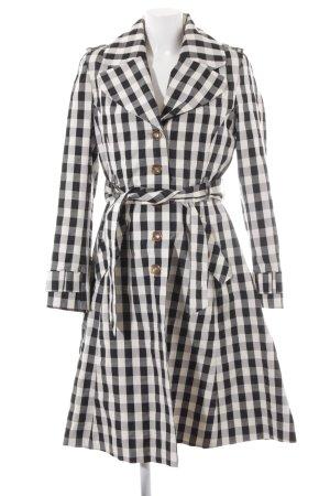 Daite Between-Seasons-Coat Vichy check pattern elegant