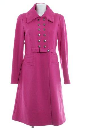 Daite Wollmantel pink extravaganter Stil