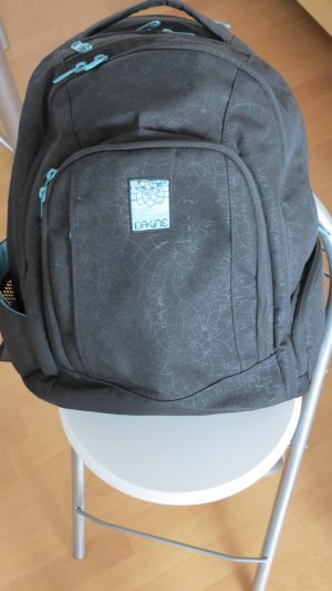 Dakine Laptop Backpack black-blue synthetic fibre