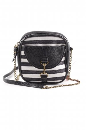 Dakine Mini Bag black-white horizontal stripes casual look