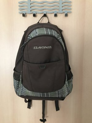 Dakine School Backpack dark brown-dark green