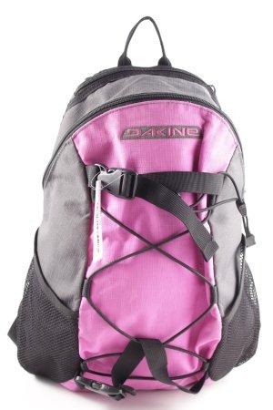 Dakine Sac à dos collège gris clair-rose style décontracté
