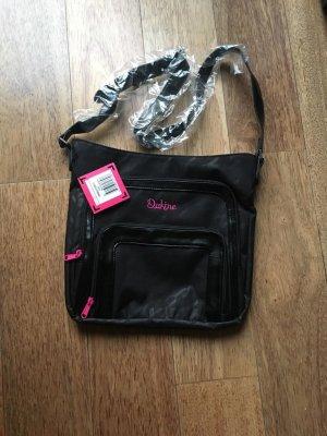 Dakine Crossbody bag black textile fiber