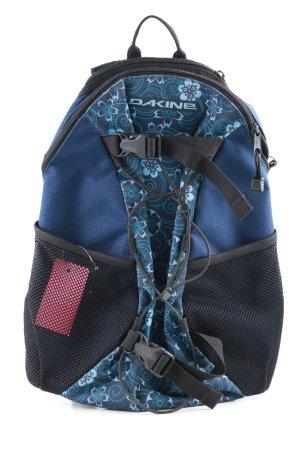 Dakine Sac à dos de randonnée bleu-noir motif de fleur style décontracté