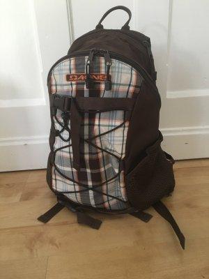 Dakine Wonder 15L Rucksack Backpack braun orange kariert