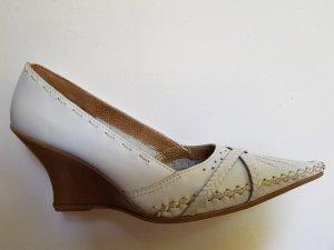 Dakota Keilabsatz Lederschuhe Casual Elegant