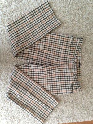 Pantalon à pinces multicolore coton