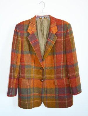 DAKS Signature Wool Blazer multicolored wool