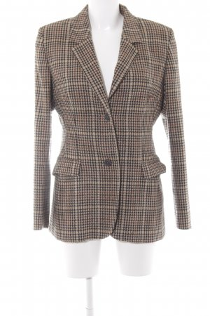DAKS Signature Wool Blazer shepherd's check pattern business style