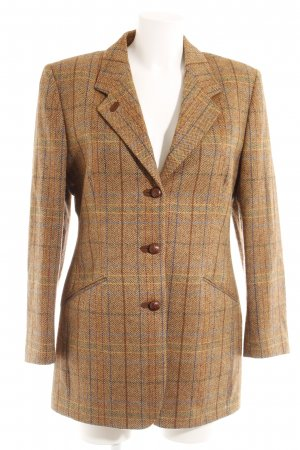 Daks Wool Blazer check pattern business style
