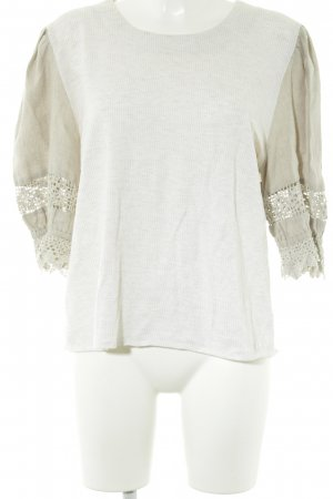 Daller Traditional Jumper oatmeal classic style