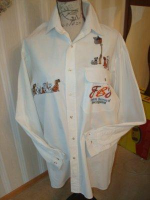 100% Fashion Blusa de manga larga blanco Lino