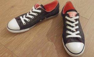 Converse Sneaker nero-rosa