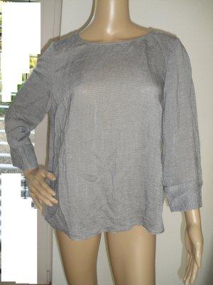 Damen 3/4 Arm Oberteil, schwarz-weiß, von More&More (124-AE)