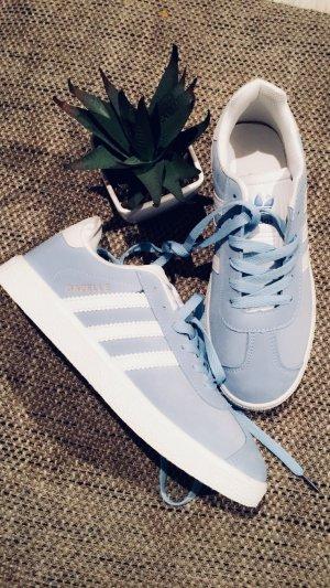 Damen Adidas Gazelle blau Gr 38 sneaker