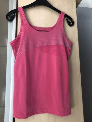 Damen Adidas Sport Top Shirt Pink Climalite Gr 38 Neu