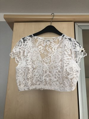 Alpenherz Traditional Blouse white
