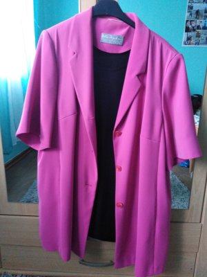 Selection by Ulla Popken Pantalon de costume noir-rose