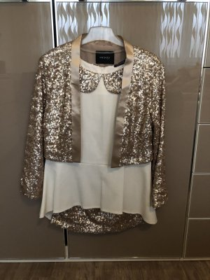 Orsay Gilet de costume blanc-bronze