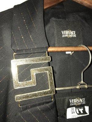 Versace Tailleur pantalone nero