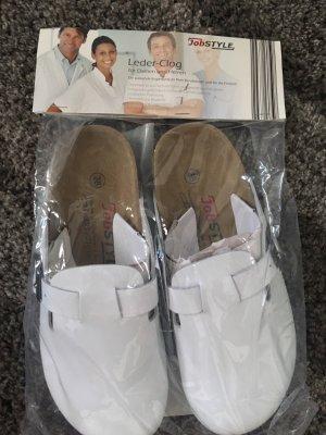 clinic+job dress Clog Sandals white