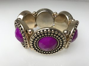 Damen Armband Gold - lila