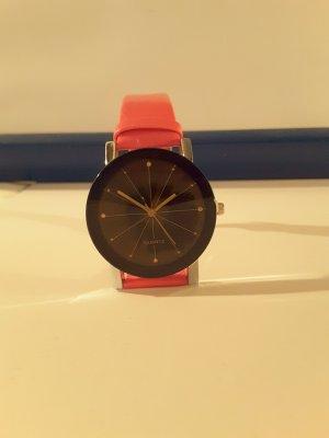 Damen Armband UHR in rose und Schwarz