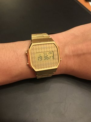 Damen Armbanduhr Casio